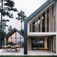 7 Creative and Modern Tricks: Attic Design Plan attic stairs cape cod.Tiny Attic Everything attic ladder layout. Modern Barn House, Modern House Design, Loft Design, Attic Design, Design Design, Design Ideas, Residential Architecture, Interior Architecture, Pavilion Architecture