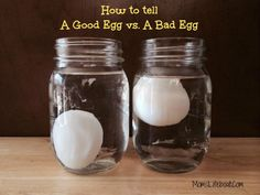 How to Tell if An Egg is Good or Bad - pretty easy.  All you need is water to check and with one simple technique you can easily tell if your egg is good or bad.