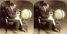 TRAVELING THE GLOBE WITH A STEREOSCOPE AND A BOX OF VIEWS
