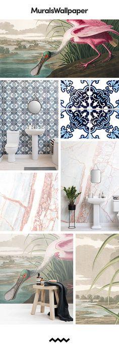 Entwerfen Sie Einen Schönen Kleines Bad Raum Mit Diesen Gästebad Ideen Mit  Ikonischer Toilette Tapete. Die Schönen Gästezimmer Tapeten In Dieser  Sammlung ...