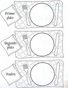 Menta Más Chocolate - RECURSOS PARA EDUCACIÓN INFANTIL: Actividad para trabajar con los Alimentos