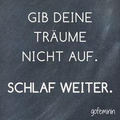 Unser Spruch des Tages! Noch mehr tolle Sprüche haben wir für euch auf gofeminin.de!