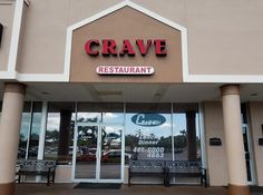 Crave Restaurant, Brunch Spots, Fort Myers, Cravings, Neon Signs, Dinner, Breakfast, Dining, Morning Coffee