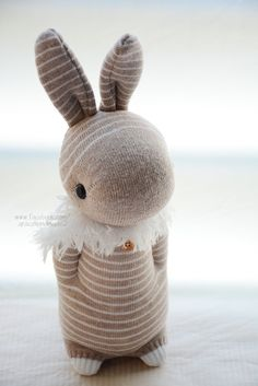 Grace--#305 Domy Rabbit (sock rabbit)
