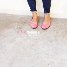 @meganpapworth is pretty (and stylish!) in pink with these blush colored Shae flats. Pair dark denim jeans with a colorful flat to brighten up your outfit and day! Pick from 6 different shades on Target.com http://meganpapworth.com/2015/03/pink-is-always-a-good-idea/ oes2