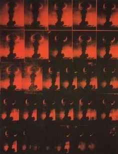 Bombe atomique, par Andy Warhol