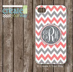 iPhone+5s+Case+monogram++iPhone+5+case+chevron++by+CreateItYourWay,+$19.99
