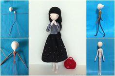 Πώς να φτιάξετε υπέροχες κούκλες απο σύρμα, ύφασμα και νήμα!