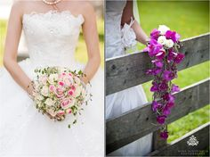 Extraordinary wedding bouquet with pink orchids | Nina Hintringer Photography - Wedding Inspirations: What Makes a Bridal Bouquet Beautiful? - www.ninahintringer.com