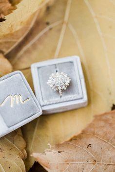 vintage art deco style engagement ring | Photography: Tala Nicole