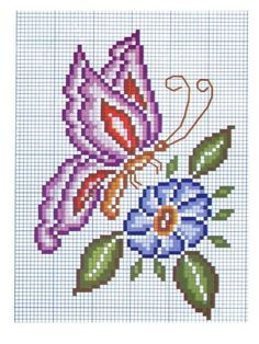 Thrilling Designing Your Own Cross Stitch Embroidery Patterns Ideas. Exhilarating Designing Your Own Cross Stitch Embroidery Patterns Ideas. Cross Stitch Cards, Cross Stitch Animals, Cross Stitching, Cross Stitch Embroidery, Hand Embroidery, Loom Beading, Beading Patterns, Embroidery Patterns, Butterfly Cross Stitch