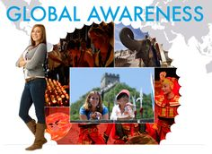 Global awareness is such an important aspect in life. As global citizens, people should have as much global experience as possible.
