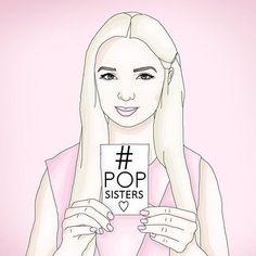 My very creative #popsisters  By: @vckdmnds That poppy • poppy  ғöℓℓöω мё Pästélàïnē