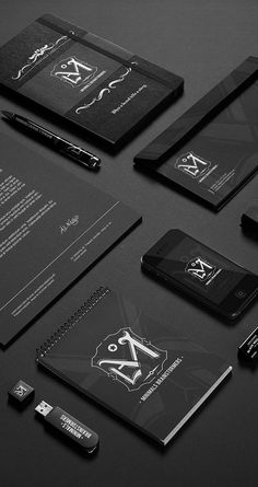 Black and White Branding gorgeous. a reversal of current.