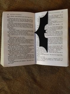 Super Hero Bookmark Geekery Paper Art Batman and by CuttinginLine, $5.00