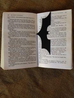 Super Hero Bookmark Geekery Paper Art Batman and by CuttinginLine, $5.00