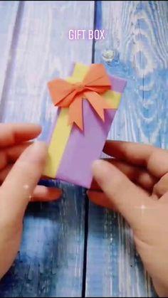 Diy Crafts Hacks, Diy Crafts For Gifts, Diy Home Crafts, Diy Arts And Crafts, Fun Crafts, Crafts For Kids, Easy Paper Crafts, Paper Crafts Origami, Diy Paper