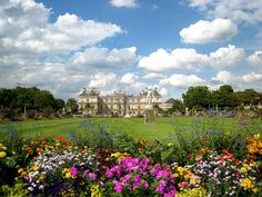 Les Miserables | Jardin du Luxembourg, Paris, France.  Where Marius and Cosette meet and fall in love.