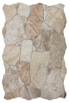 A Textural Ceramic Tile That Looks Like Rock Aruba Mix X In - Ceramic tile that looks like rocks