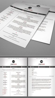 Premium CV 211. 1 Pagina CV en Sollicitatiebrief. Gebruik deze layout om je eigen CV en Sollicitatiebrief te schrijven en bewerken. Iedereen kan het!