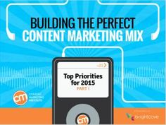 What Content Marketing Tactics Will Keep You On Track for Success in 2015?  -  content-marketing-playlist-2015-part-1
