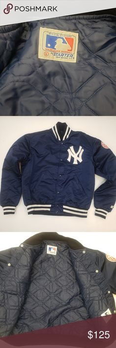 b1e3d1daf VTG New York Yankees Starter Satin MLB Jacket In Excellent condition with  no stains or rips
