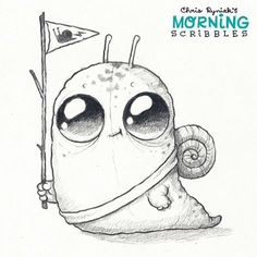 Snail Scout! #morningscribbles