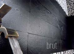 Mosaïque sol/mur en ardoise Brazil 10x10, noir, 30x30cm | Leroy ...