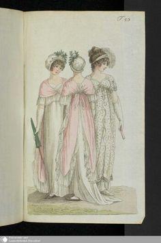 August 1805  Journal des Luxus under der Moden