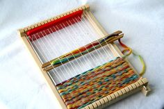 Natural Weaving Loom for Children  wooden loom by elfenwiege, $14.00