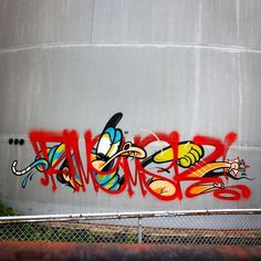 """6,907 Likes, 39 Comments - There's Art In A Tag! (@handstyler) on Instagram: """"how does Rime (@rime_msk) do it...? #rime #handstyle #graffiti"""""""