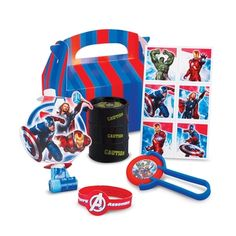 The Avengers Party Favor Box