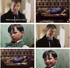 I think Sherlock finally understands what he's done