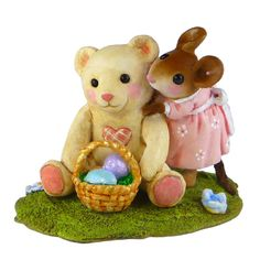 Easter Gift, mouse miniature