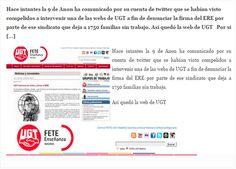 """El Informal Segorbino: Anonymous """"interviene"""" una web de UGT para denunci..."""
