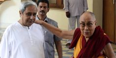 Dalai Lama today said he admired Chief Minister Naveen Patnaik for winning people's trust and respect for a long time.