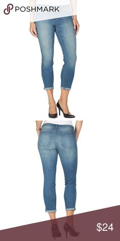 Jessica Simpson Women's Rolled Crop Skinny Jeans Product Description Color : Cabo Cropped pants with rollover cuffs in skinny-leg silhouette  Lightweight denim stretch  Front continental and coin pocket Back patch  Front button and zipper fly  Low-rise Back yoke Jessica Simpson Jeans Skinny