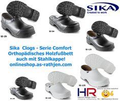 Sika Clogs und Sika Sicherheitsclogs - dänische Qualitätsclogs für viele Berufsgruppen seit 2007 bei uns im onlineshop.as-rathjen.com