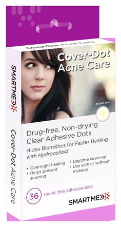 Cover-Dot Acne Care: rated 4.4 out of 5 on MakeupAlley.  See 7 member reviews and photos. #acneabsorbingpatch