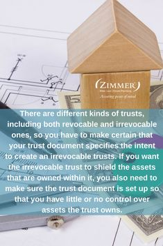 It is important to understand Ohio irrevocable trusts requirements if you are planning to use an irrevocable trust as part of your asset protection plan, incapacity plan, or estate plan. Irrevocable trusts have many important benefits, but there are also some limitations, such as very limited flexibility and loss of control over the assets within the trust.
