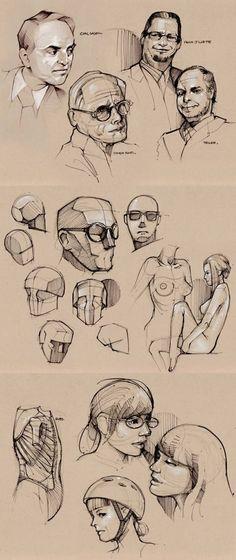 Heads_Como desenhar cabeça