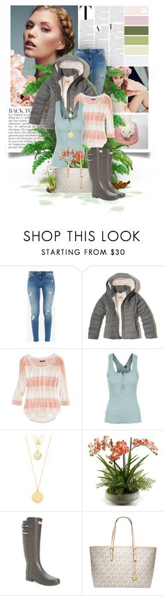 """""""Untitled #225"""" by jen-ela ❤ liked on Polyvore featuring Anja, Wildfox, Ted Baker, Hollister Co., American Eagle Outfitters, Free People, BaubleBar, Home Decorators Collection, Hunter and Michael Kors"""