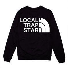 Local Trap Star — Local Trap Star Crewneck (Black)