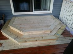 New deck step