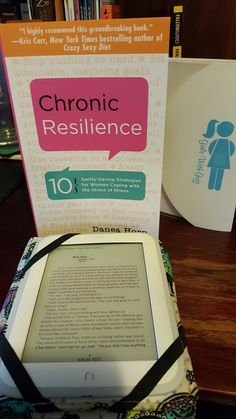#FridayReads: Dark Places by Gillian Flynn and Chronic Resilience by Danea Horn
