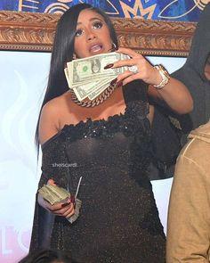 Cardi at Amora Lounge. Cardi B Photos, Bodak Yellow, Black Barbie, Bacardi, Hip Hop Fashion, Nicki Minaj, My Girl, Black Women, Celebs