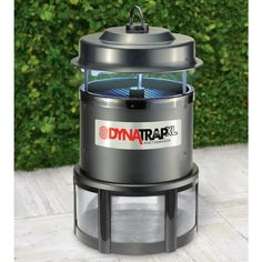 The One Acre Natural Attractant Mosquito Trap - Hammacher Schlemmer - This trap attracts and kills mosquitoes across one acre without harmful chemicals. The trap mimics the natural conditions of human habitation by emitting heat and odorless carbon dioxide (the same gas people expel during respiration) and light to lure mosquitoes.