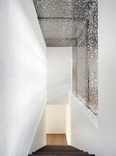 {Monday Mix: playing with light and mass using perforations.} via & via H&H is on Pinterest