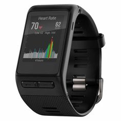 Garmin Vivoactive HR GPS Smartwatch with Heart Rate Monitor - Black
