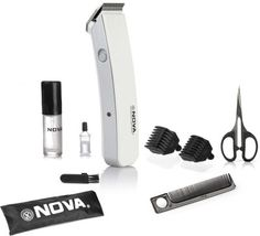 + Rs 40 Delivery Key Features of Nova Advance NHT 1047 W Trimmer For Men   	Advanced Technology  	Pro Skin Friendly  	Cordless Trimmer  	Superior Trimming
